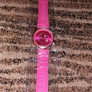 Pink Geneva watch🔥